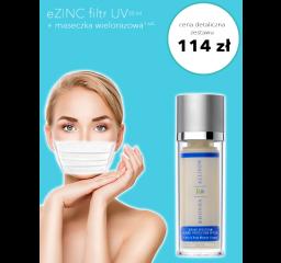 Krem z filtrem UV + maseczka wielorazowa