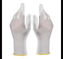 Rękawiczki wielorazowe białe