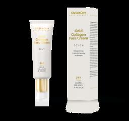 Kolagenowy krem do twarzy ze złotem na dzień 50 ml