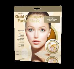 Kolagenowa maska ze złotem do twarzy 1 szt.